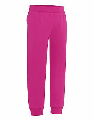 jogger sweatpants girls kids comfortsoft ecosmart medium