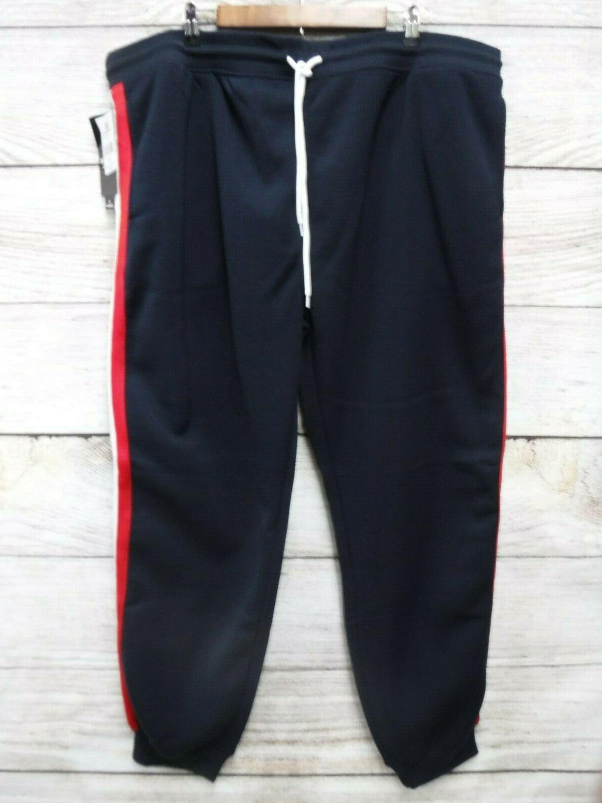 Southpole Tall Mens Size 6XB Blue Fleece Sweat Jogger Pants New