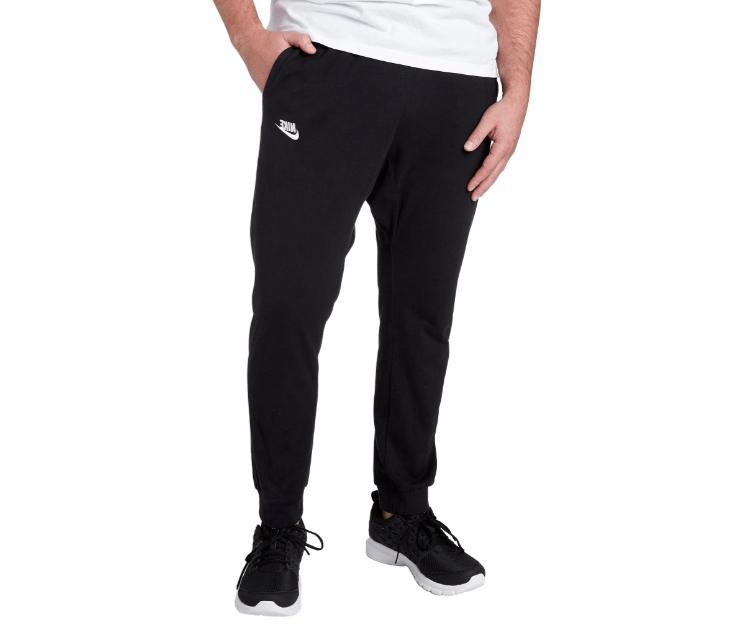 joggers black white mens 4xl tall authentic
