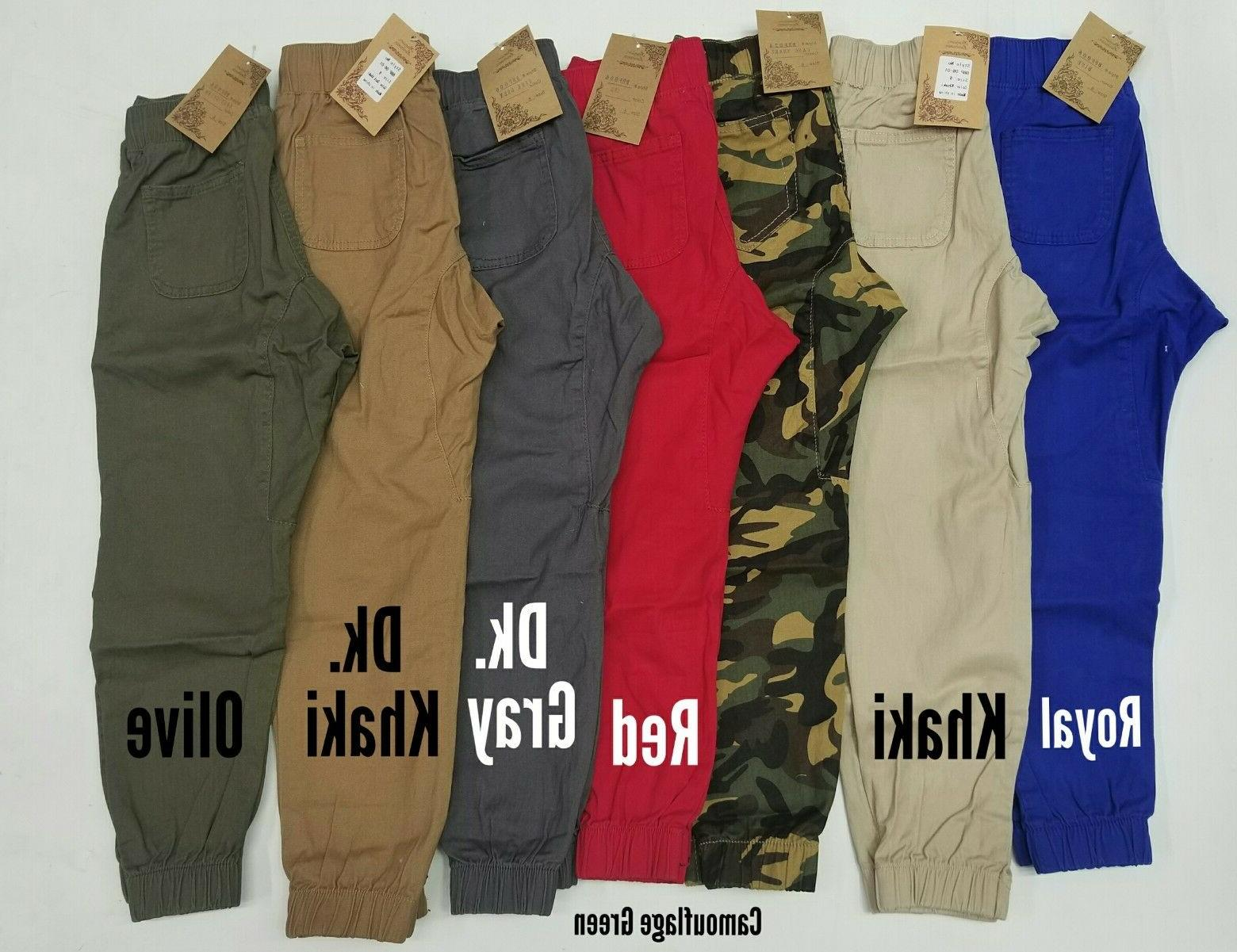 joggers for boys lots of colors available