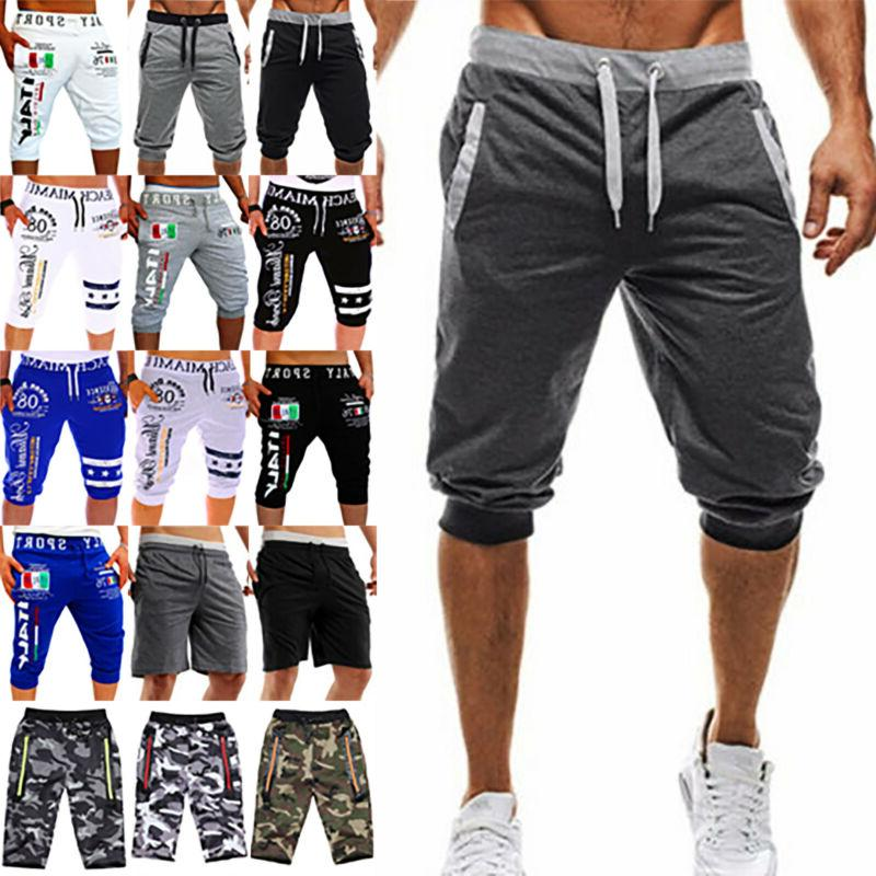 men s baggy jogger casual trousers shorts