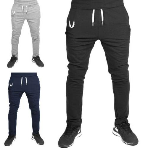 Men Pants Gym Trousers Running Joggers Gym Sweatpants