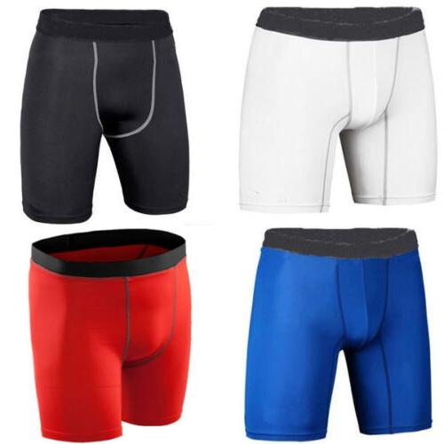 Men Compression Under Layer Athletic Tank Tee Top Short Pants