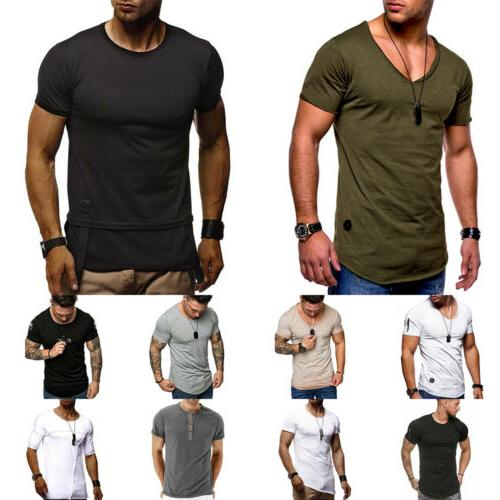 Men Fitness Athletic Muscle Tops Fitness