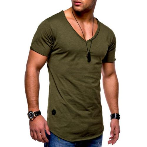 Men Athletic Camo Muscle Fitness