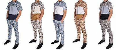 men s 3 piece set hat jogger