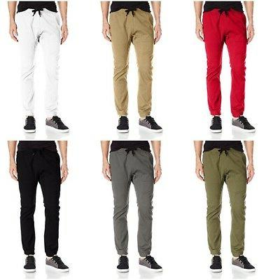 men s basic stretch twill athletic cotton