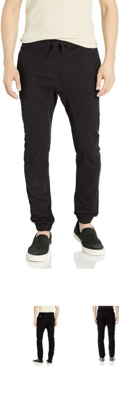 Southpole Men'S Basic Stretch Twill Jogger Pants-Reg And Big