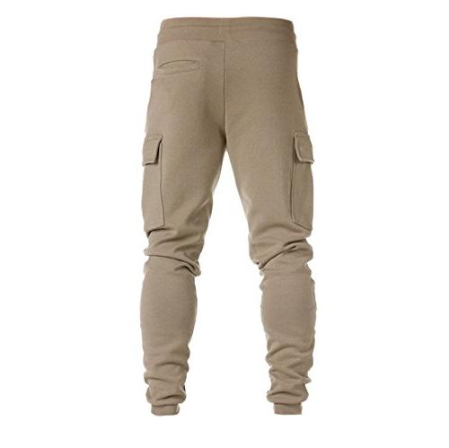 Sweatpants Lace-Up Personalized Side Pockets Baggy Jogger Pants