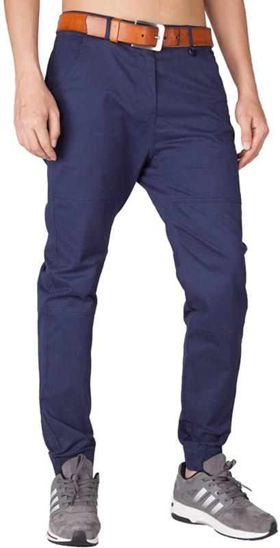 Italy Morn Men'S Chino Jogger Pants Casual Slim Fit Stretch