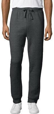 Hanes Men's EcoSmart Fleece Jogger Sweatpant with Pockets. O
