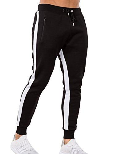 men s gym jogger pants slim fit