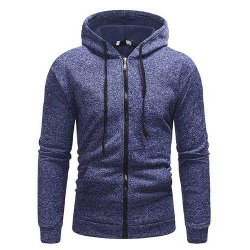 Men's Hoodie Muscle Sweater T Shirt Jogger Athletic