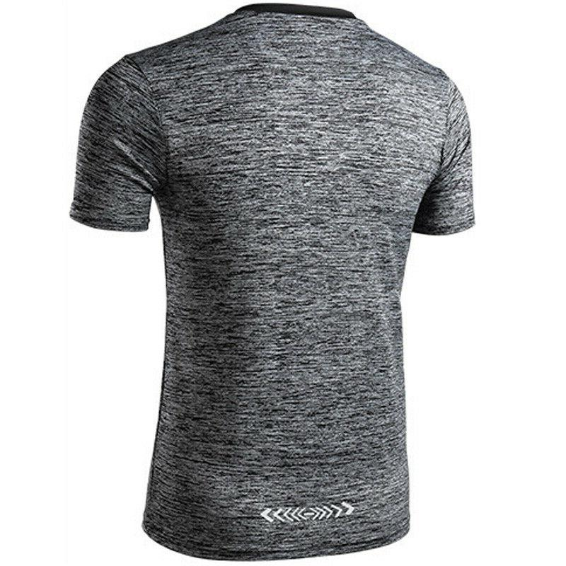 Men's Gym Sporty Fitted Quick Dry Muscle Tee