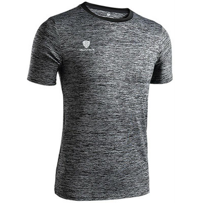 Men's Fitness Gym Outdoor Sporty Fitted Quick Muscle Tee
