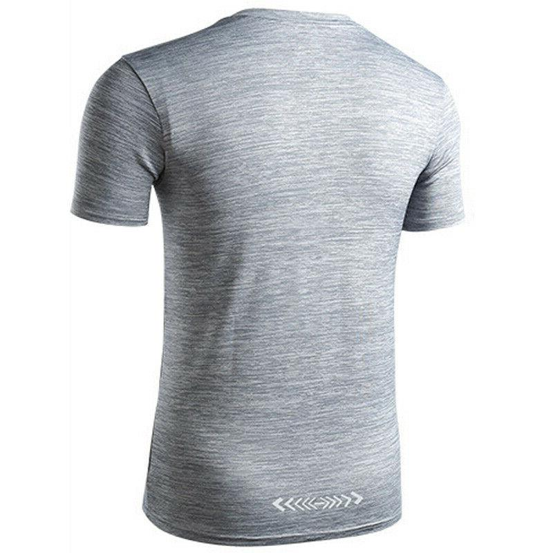 Men's Jogger Gym Sporty Fitted Dry Tee