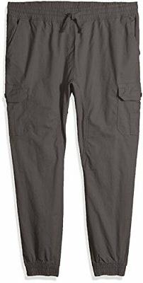 Southpole Men's Jogger Pants Washed Ripstop Fabric - Choose