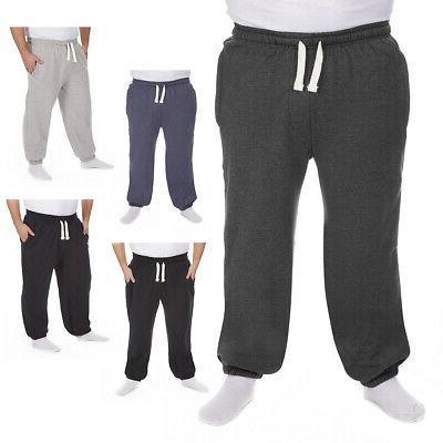 Men's Joggers Track Sweat Pant Fleece 3XL -