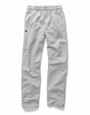 men s powerblend sweats open bottom pants