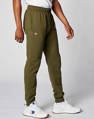Champion Men's Sweatpants Jogger Powerblend Pockets Athletic