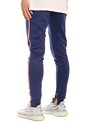 JD Apparel Fit Track Jogger 2XL Blue Navy/White