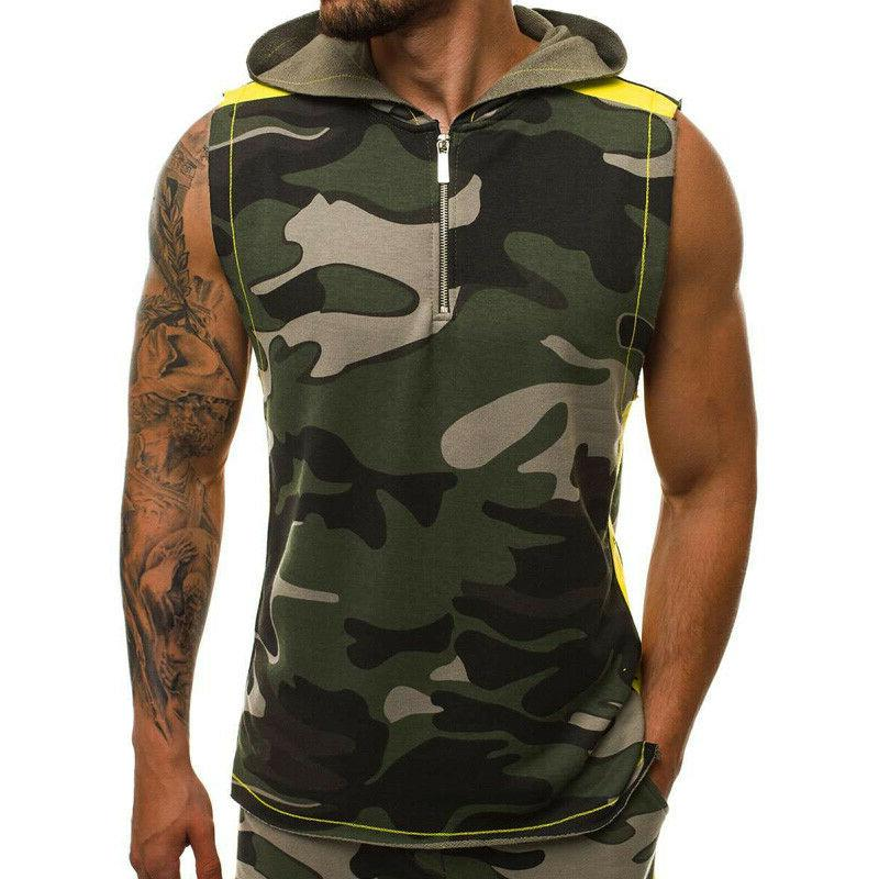 Shirts Hoodies Camouflage Muscle Joggers Gym