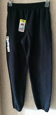 Fruit of the Loom Men's Sweat Pants New Size S 28 30 Inseam