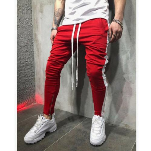 Men's Track Pants Sports Gym US