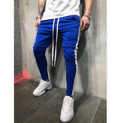Men's Sports Jogging Bottoms Gym Sweats Trousers