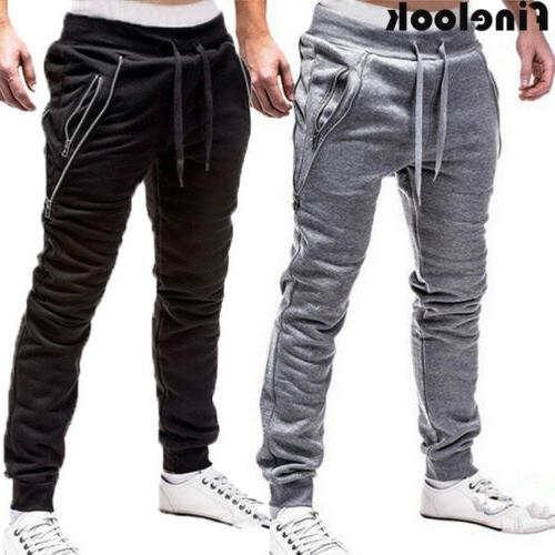 Men Pants Trousers Fitness Workout Joggers