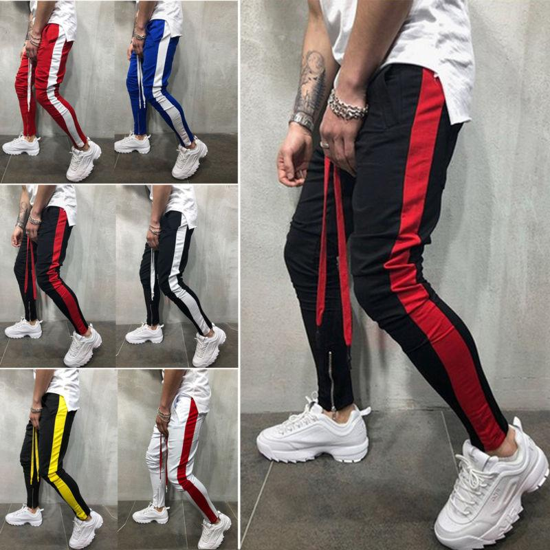 Men Casual Sports Jogging Bottoms Joggers Sweats