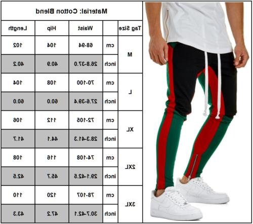 Men Track Casual Joggers Sweats