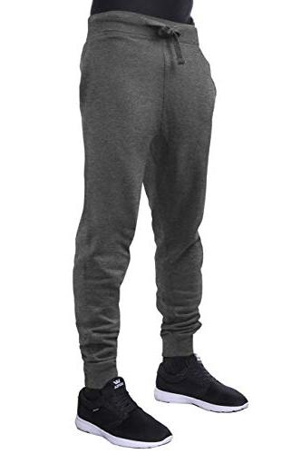mens active fleece jogger pants casual urban