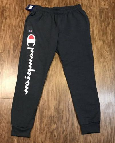mens blue navy joggers new big logo