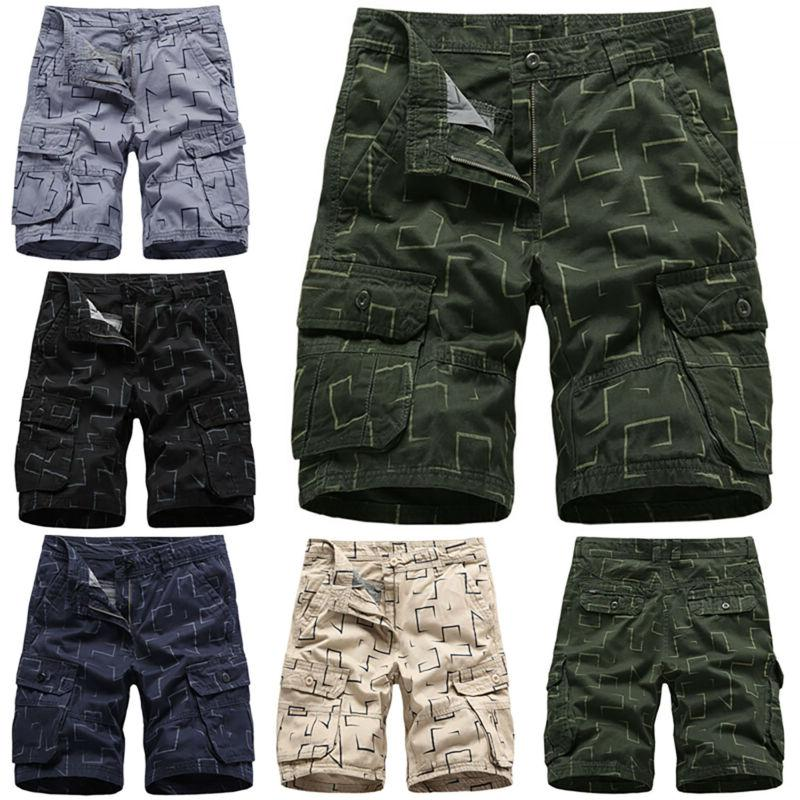 Mens Shorts Combat Short Pants Army