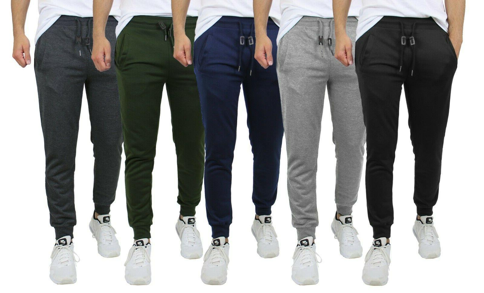 mens french terry active jogger pants sweatpants