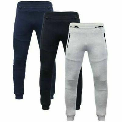 mens joggers clothing sig strip tracksuit bottoms
