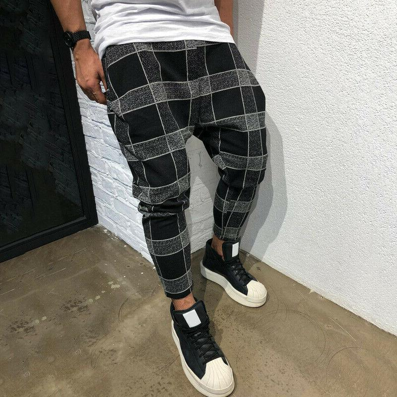 Mens Casual Trousers Joggers Bottoms Sweat