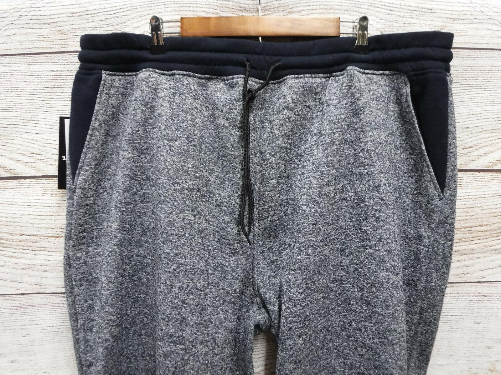Southpole Mens Size Marled Navy Slim Fit Jogger New