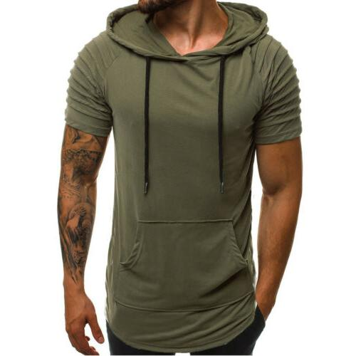 Mens Gym Top Sports Blouse