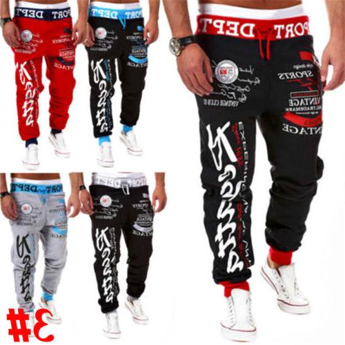 US Bottoms Gym Trousers Casual Jogging Joggers