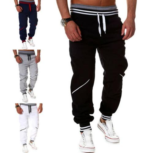 Mens Sport Tracksuit Gym Joggers