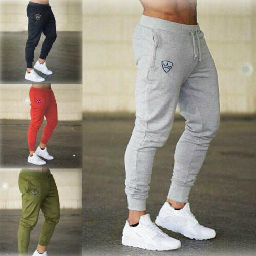 Mens Sport Trousers Fitness Joggers Gym