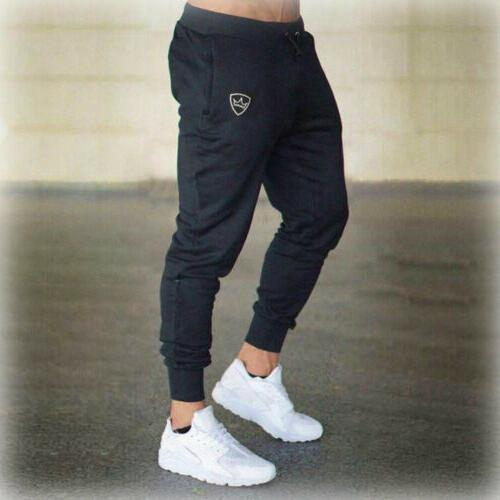 Mens Sport Pants Trousers Joggers Sweat