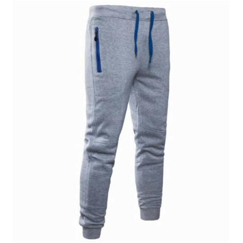 Mens Pants Trousers Fitness Workout Joggers