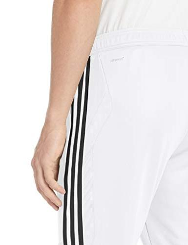 adidas Men's Pants, White/Black,