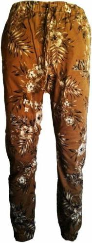 VICTORIOUS MENS PANTS FLORAL
