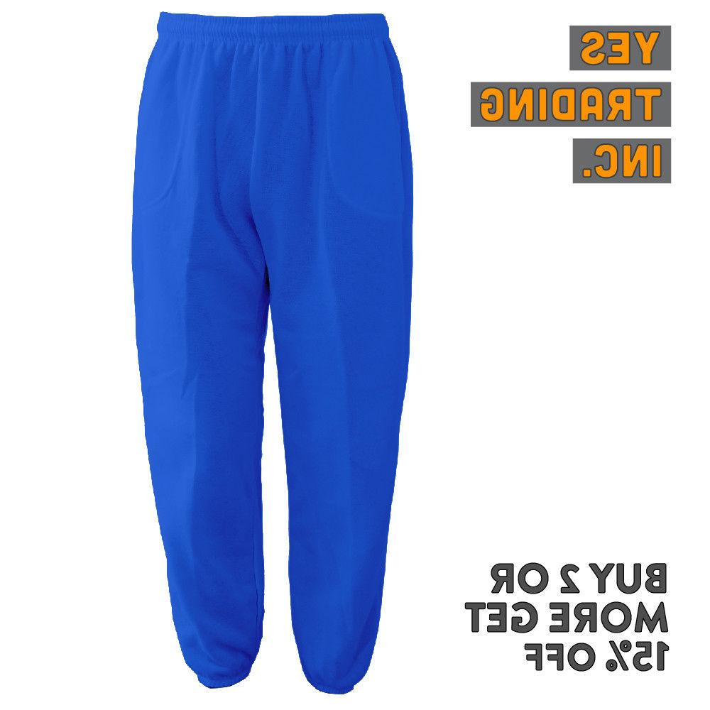 MENS SWEATPANTS POCKET CASUAL JOGGERS