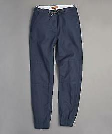 7 FOR ALL MANKIND NAVY BLUE COTTON JOGGER PANTS COMFORT COLL