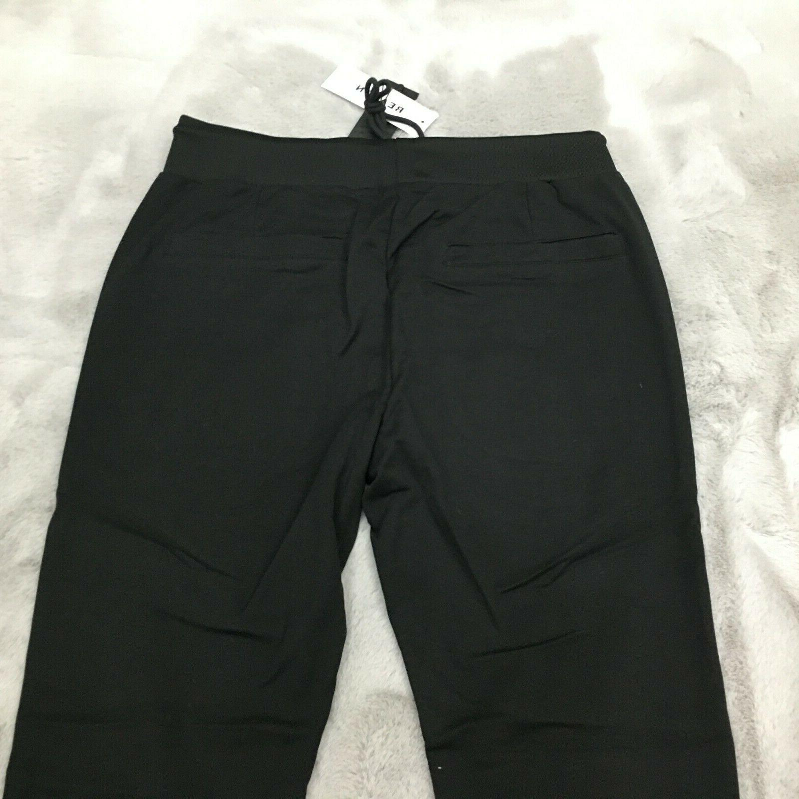 New Reason Brand Embroidered Wolf Joggers Size Large
